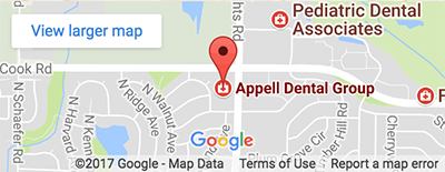 Map - Appell Dental Group