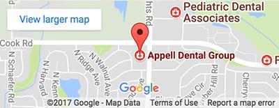 Map - Appell Dental Group